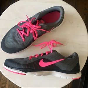 Nike Flex Trainer 6 Mesh Athletic Shoe EUC US 8